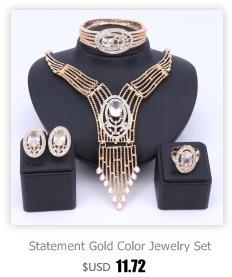 Комплект ювелирных изделий в африканском стиле женский свадебный