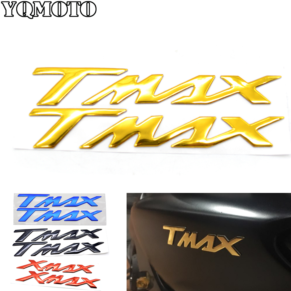 Motorcycle Decals Stickers Emblem Badge 3D Raised Tank For Yamaha TMAX 500 530 TMAX500 TMAX530 T MAX 500 530 in Decals Stickers from Automobiles Motorcycles