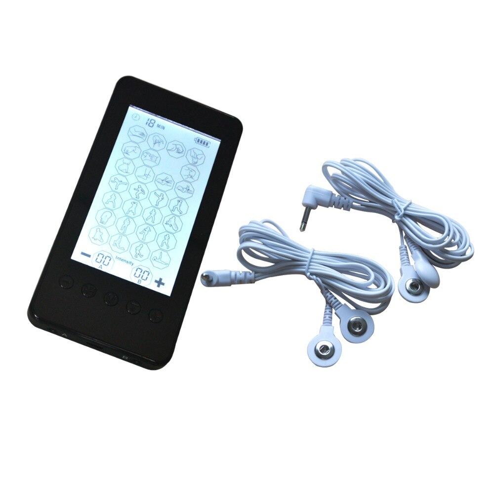 Touch Screen elettrico Decine Smart Unità Massager Con 28 Modalità SME Lo Stress di Tutto il Corpo Macchina di Massaggio Per Il Trattamento del Collo Posteriore relax