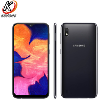 """New Samsung Galaxy A10 A105F-DS 4G LTE Mobile Phone 6.2"""" 2GB RAM 32GB ROM Octa Core Android 9.0 13.0MP Camera Dual SIM CellPhone"""