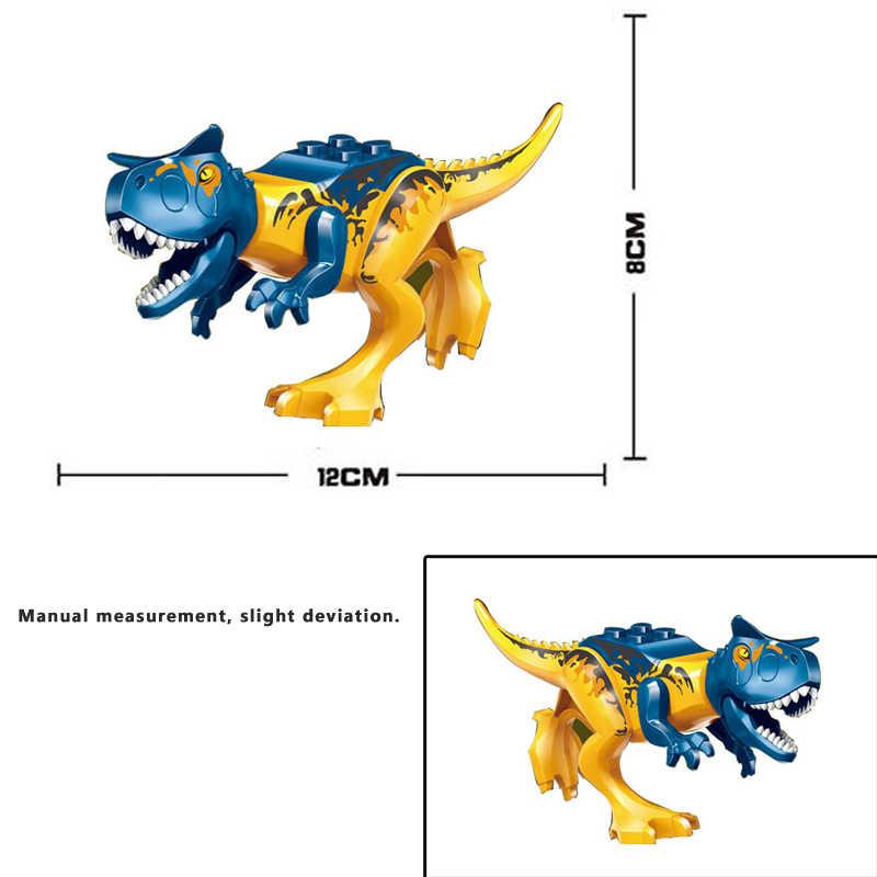 Legoings צעצוע יורה העולם 2 סטיקס דרקון ילד דינוזאור בניין בלוק פרק יורה 3 דינוזאור דיגיטלי לבנים תואם לשחק