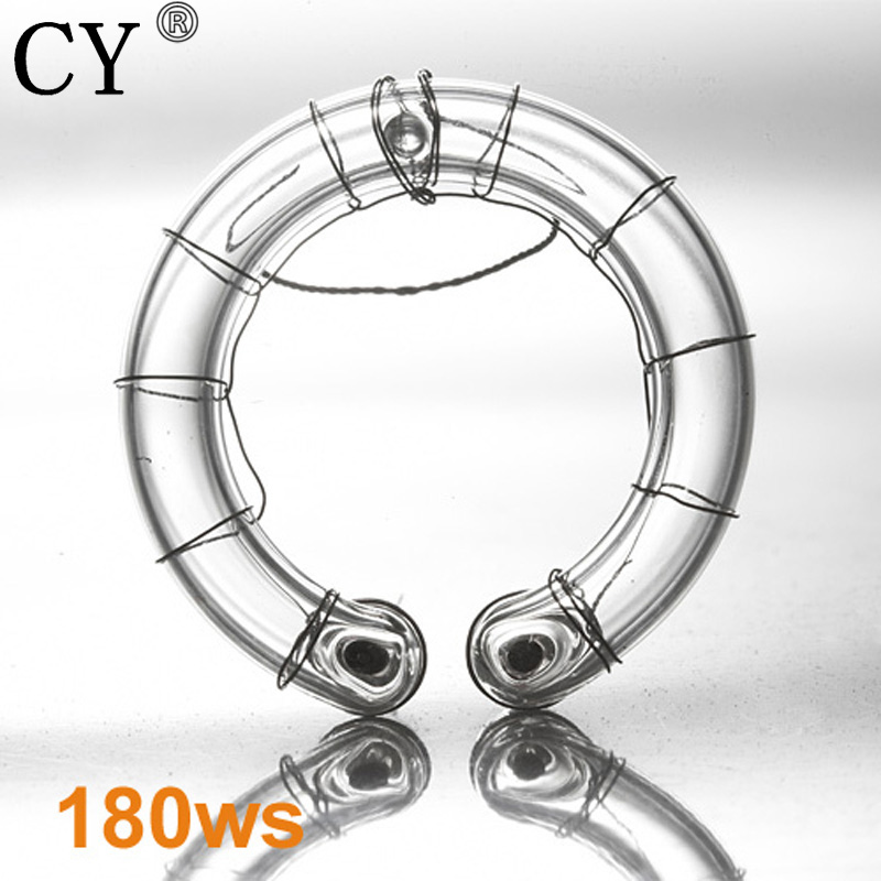 CY Low Price 180ws Photographic Lighting Ring Flash Lamp Bulb Studio Flash Lamp Light Ring Flash Tube For Strobe Hot Selling