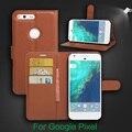 Para htc google pixel pixel nexus s1 virar case capa couro estilo carteira pu leather case suporte de cartão função hold casos