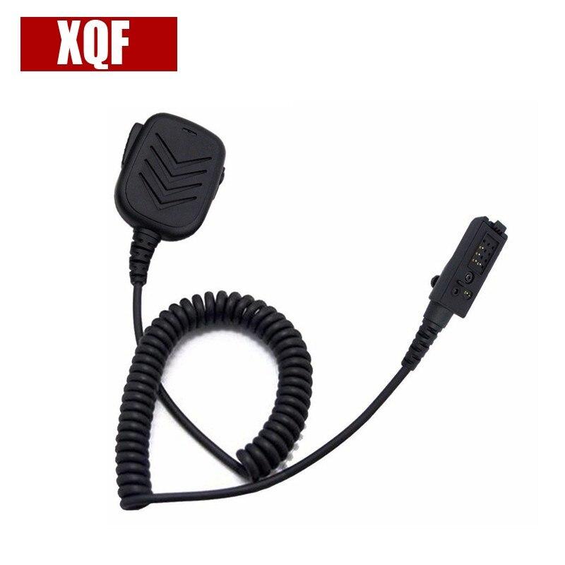 XQF Shoulder Remote Handheld Speaker Mic For Motorola ASTRO SABER, SABER SI Multipin Two Way Radio
