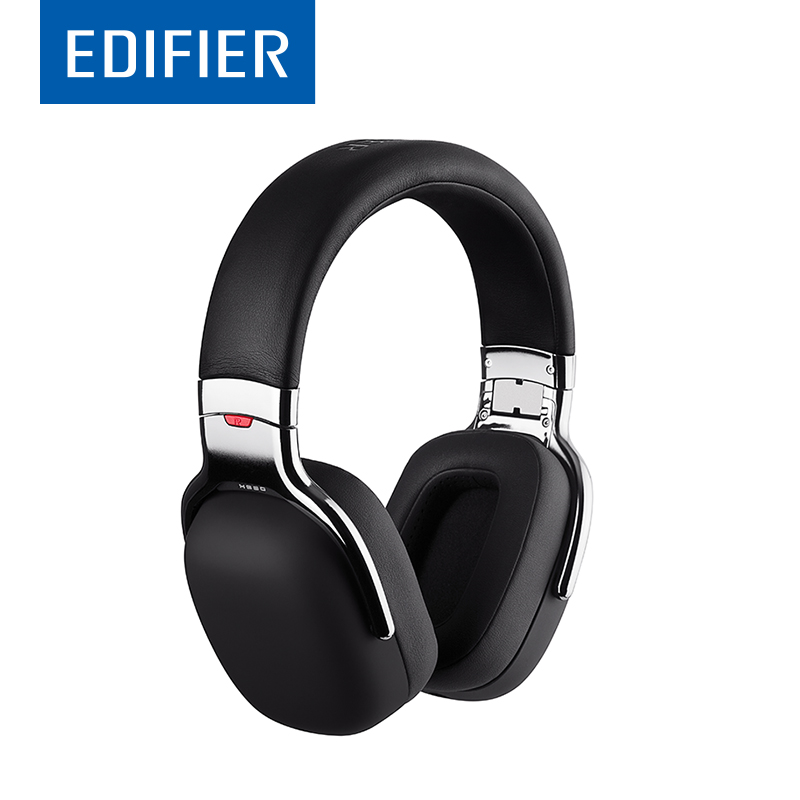все цены на EDIFIER H880 HI-Fi Headphones Noise Barrier Bass Response Folding Designs Comfortable Over-Ear Inline Remote Control and Mic онлайн