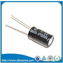 10 PCS capacitor eletrolítico de Alumínio 1000 uf 25 v tamanho 10*17mm 25 V/1000 UF Eletrolítico Capacitor 1000 UF 25 V