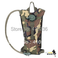 2.5L Jungle camouflage hydration backpack water bag with bladder non toxic safety harmless Green food grade