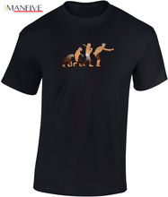 Evolution of Petanque Personalised T-Shirt Funny Gift Ape to Man Humor  New T Shirts Tops Tee Unisex