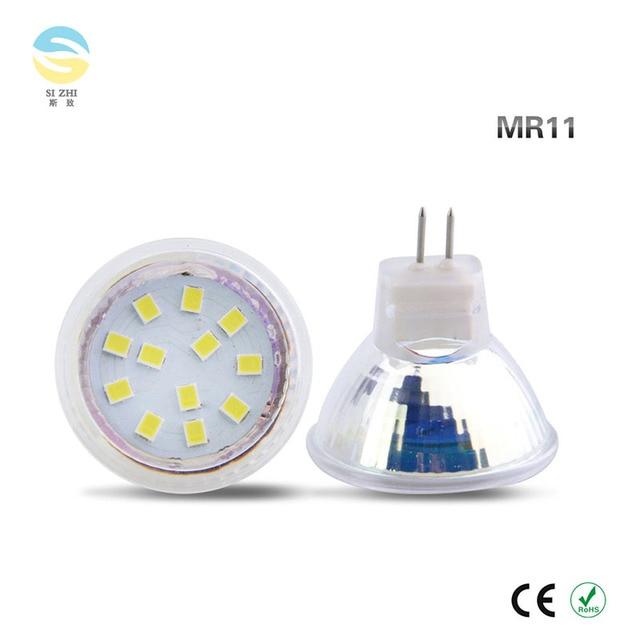 6 Stücke MR11 Led strahler Leuchtmittel AC/DC 12 V 24 V Led lampe ...