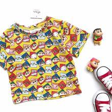 2019 summer kids cartoon t shirts boys unicorn toddler girls tops