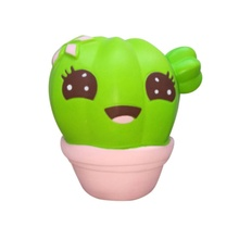 High Quality New Baby Boys Girls Slow Rising PU Cactus Squeeze Toys Hot Selling Kid Novelty Charm Gift for Stress Relief