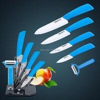 Ceramic Knife Knife Set 6pcs Gift Set 3 4 5 6 Ceramic Peeler Acrylic Holder