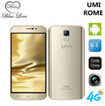 Оригинал UMI Рим 4 Г FDD-LTE Телефон 5.5 дюймов HD MTK6753 Octa ядро 1280*720 3 Г RAM 16 Г ROM Android 5.1 Камера smart mobile телефон