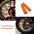For KTM Kawasaki Motocross SPOKE SKINS Wheel RIM SPOKE SHROUDS COVERS for KTM EXC EXCF EXC F 125 250 450 500 Z750 Z800 Dirt Bike