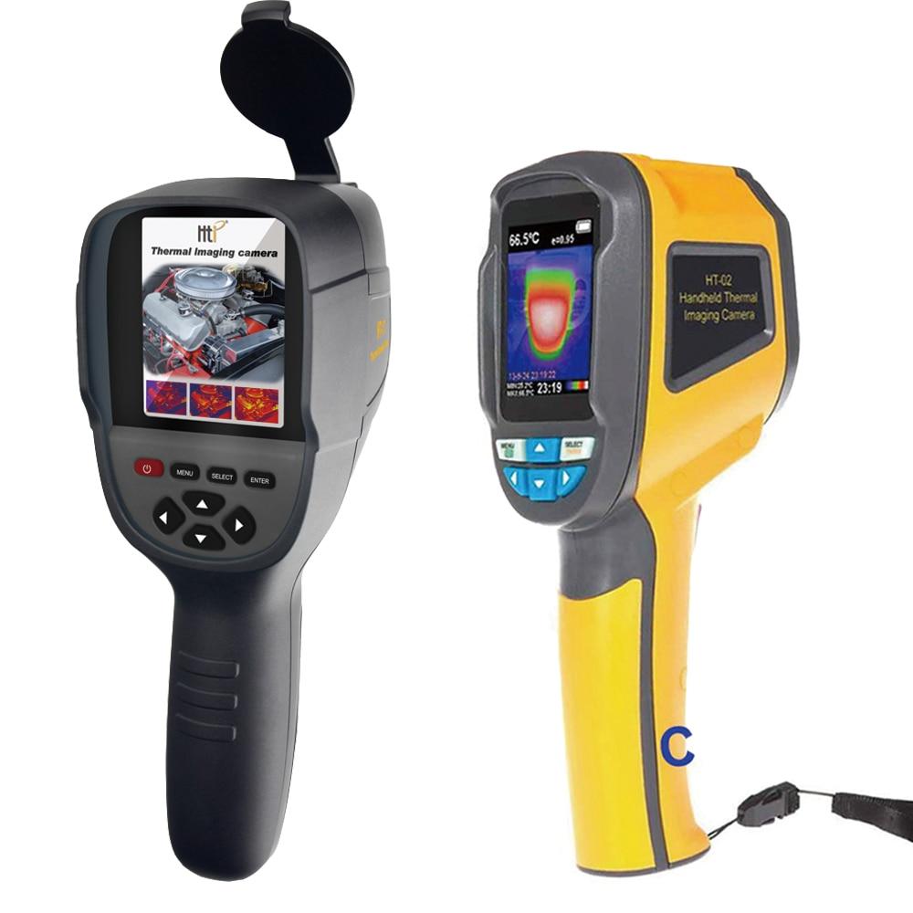 XINTEST Palmare macchina fotografica termica termocamera IR termometro a infrarossi temperatura thermal imaging strumento HT-02 HT-02D HT-18