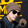 Men's Winter Hat Thick Warm Knitted Winter Mens Cashmere Hip-Hop Beanie Hat Outdoor Sport Ski Caps WL-055
