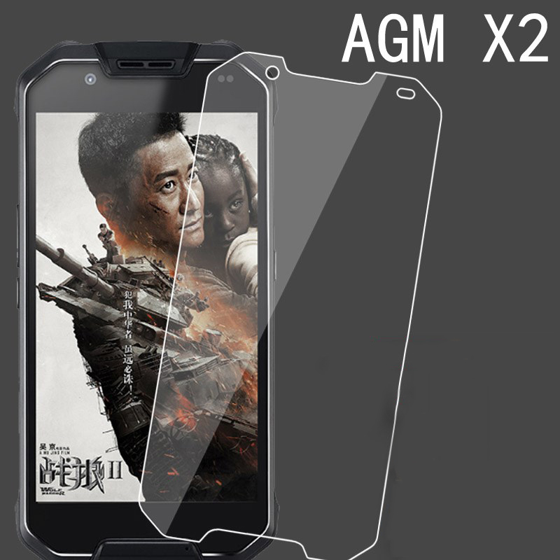AGM X2 Tempered Glass AGM X2 Screen Protector Ultra Clear 9H Smartphone Protective Glass Film Explosion-proof For AGM X2 smartphone