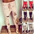 NUEVA Mujer Pantalones Harem Ocasionales Del Basculador Danza HipHop Sueltos Pantalones Pantalones Deportivos