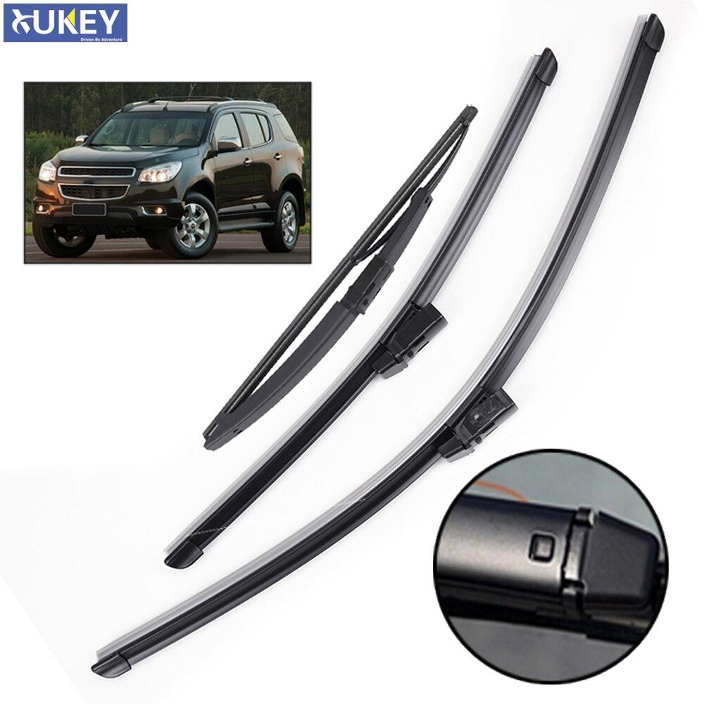 Щетки стеклоочистителя Xukey 3 шт./компл. для Chevrolet TrailBlazer RG 2019 2018 2017 2016 2015 2014 2013 2012 22