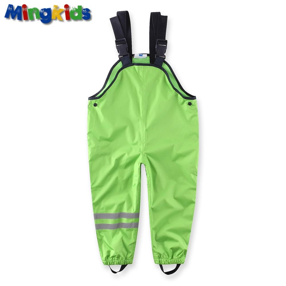 Mingkids geral À Prova D' Água de algodão acolchoado calças meninos qualidade Alemã de esqui ao ar livre calças de chuva tamanho Europeu 98-128