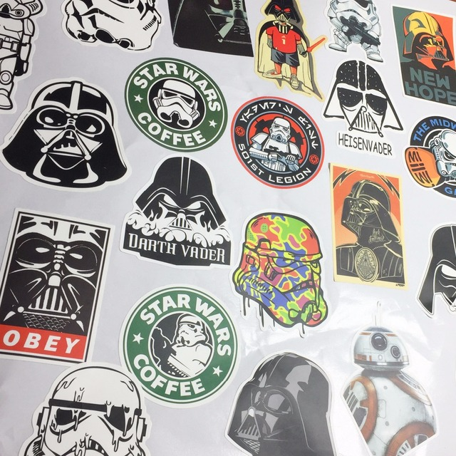Star Wars Home Decor Wall Stickers