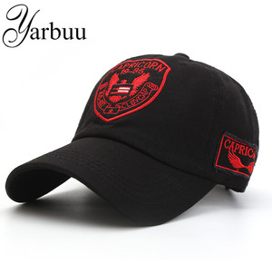 YARBUUBaseball caps Label embroidery snapback hats new fashion casquette bone hat for men women summer cap free shipping