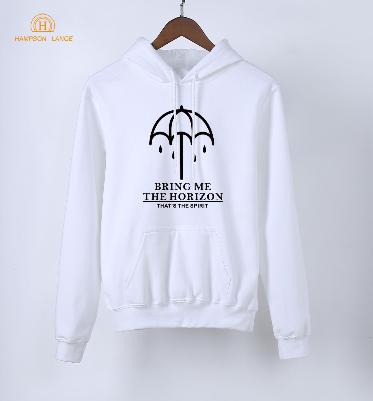 100% QualitäT Berühmte Band Bring Me The Horizon Erwachsene Langarm Mit Kapuze Frauen 2019 Frühling Herbst Frauen Pullover Sweatshirt Schwarz Weiß Grau