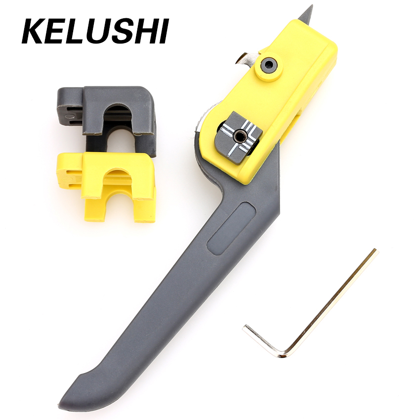 KELUSHI Fiber Optical Cable Slitter Cutter Cable Sheath  KMS-K Cable Longitudinal Optical Stripping Strip Cable