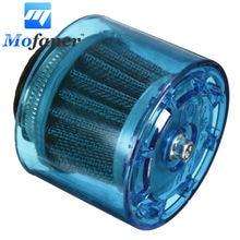 Mofaner 35 мм и 45 мм ATV PIT Dirt Bike брызгозащищенная пластиковая крышка воздушный фильтр 50cc 110cc синий
