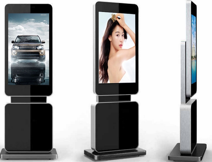 42 46 47 Inch Standing IPS HD LCD Monitor Touch Panel Interactive Display Pc Tv Digital Signage Totem Kiosk