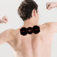 лучшая цена EMS Beck&Neck Trainer Wireless ABS Muscle Stimulator Smart Fitness Muscle Massager Muscle Relaxation Device