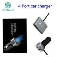 Nillkin-cargador de adaptador de cargador de coche USB dual, 4 puertos, micro tipo C, para xiaomi, Google, huawei, Samsung, zuk