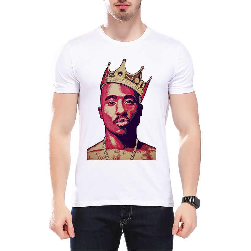 Tupac 2PAC Хип-хоп рэп рок Мужская футболка Harajuku толстовки с принтом короткий рукав Футболка мужская крутая Фитнес Футболка L9J76