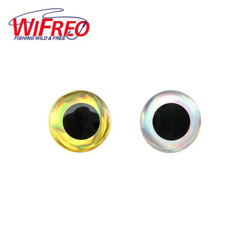 [100PCS] 3D Stick Fishing Eyes for Lure Making Fly Tying red gold 3mm 4mm 5mm 6mm 7mm 8mm 9mm 10mm 11mm 12mm 14mm 16mm 18mm 20mm 5sheets pack 10cm x 5cm holographic adhesive film fly tying laser rainbow materials sticker film flash tape for fly lure fishing