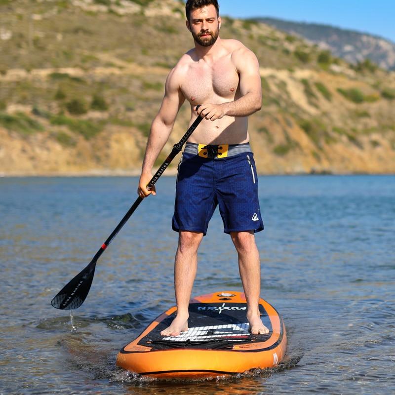 Planche de surf gonflable 315*75*15 cm FUSION 2019 stand up paddle planche de surf AQUA MARINA planche de sport nautique ISUP B01004 - 4