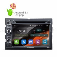 7″ Quad Core Android 5.1.1 OS Special Car DVD for Ford F150 2005-2008 with Dual CanBus System & Screen Mirroring Support