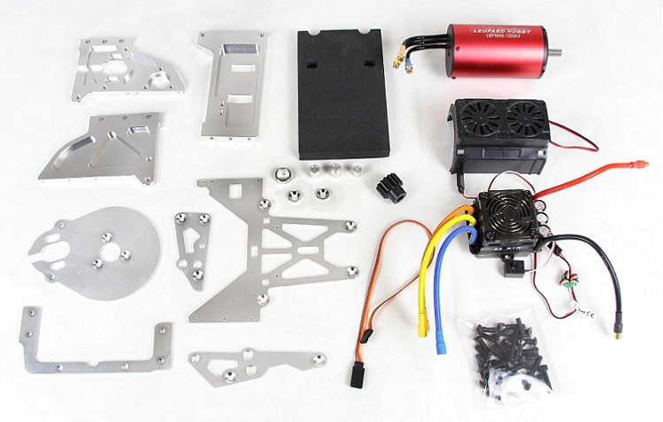 Universal kit without battery to electricity for baja 5B 5T SC freeshipping the front nylon desert tires kit for baja 5t sc