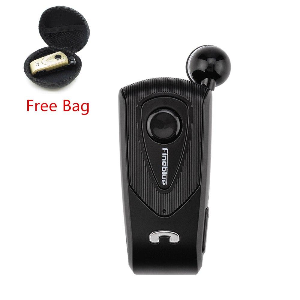 FineBlue F930 Sans Fil Auriculares Pilote Bluetooth Casque Appels Rappeler Vibrations Usure Clip Sport Courir Écouteurs