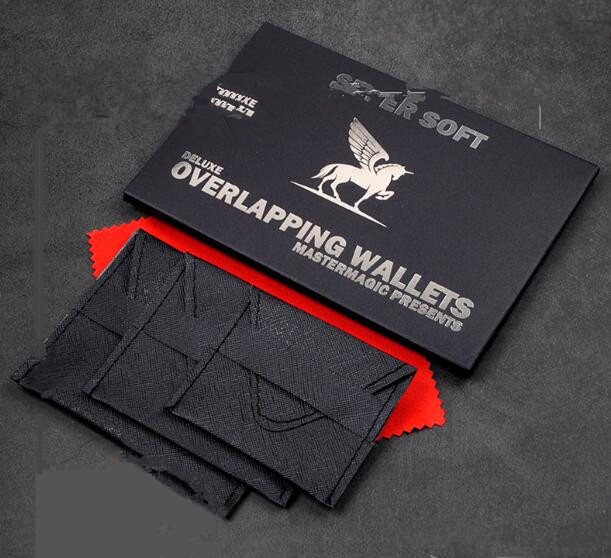 Deluxe Nest Of Wallets (Nesting Wallets) Close Up Magic Tricks,Illusion,Magic Accessories,Mentalism,Stage,Comedy,Magician Wallet