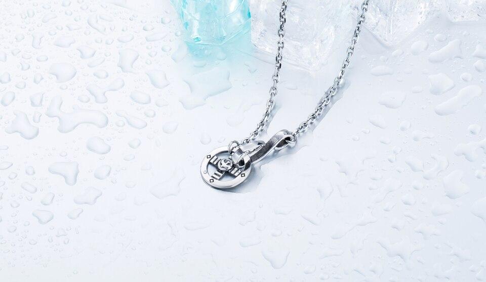 5052be7a00a6 Beier estilo simple 5mm collar de acero inoxidable nuevo estilo boy ...