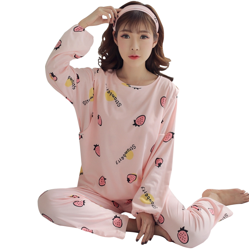 Maternity Breastfeeding Pajama Breast Feeding Nightwear Maternity Nursing Pajama Sets Nursing Sleepwear Pregnancy Suits C307
