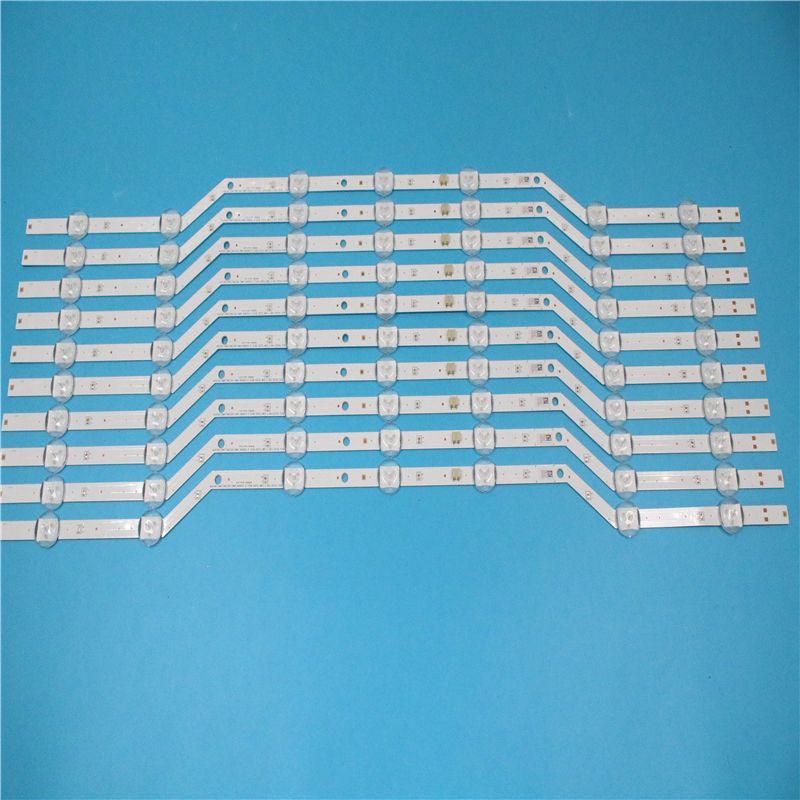 New Original 10PCS/set 7LED 620mm LED Strip For Samsung UE32J5000 BN96-36236A 36235A V5DN-320SM1-R2 2015 SVS32 FHD LM41-00134A