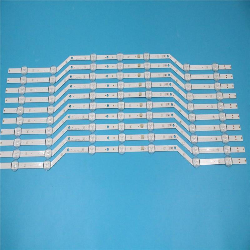 New Original 10PCS/set 7LED 620mm LED Strip For Samsung UE32J5000 BN96-36236A 36235A V5DN-320SM1-R2 2015 SVS32 FHD LM41-00134A