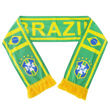 World Cup Brazil football nation Fans Cotton Scarf