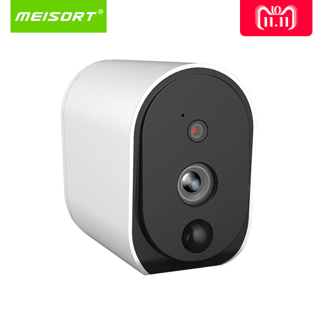 Meisort провод-Бесплатная батарея ip-камера 1080 P открытый Full HD беспроводной всепогодный Крытый безопасности WiFi IP Cam