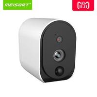 Meisort Wire Free Battery IP Camera 1080P Outdoor Full HD Wireless Weatherproof Indoor Security WiFi IP Cam