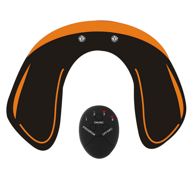 smart wireless ems abdominal muscle stimulator and hip trainer