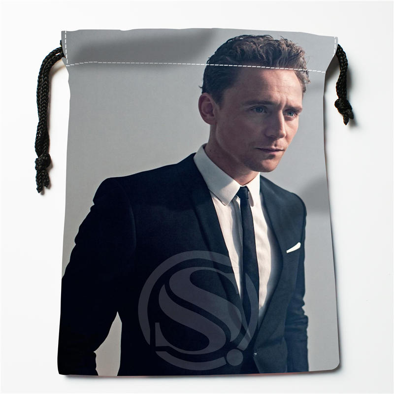 A&ix48 New Tom Hiddleston Custom Logo Printed  Receive Bag  Bag Compression Type Drawstring Bags Size 18X22cm 712q#x48