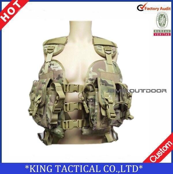 tactical vest MOLLE vest Military airsoft paintball combat assault vest woodland green black Tactical Vest