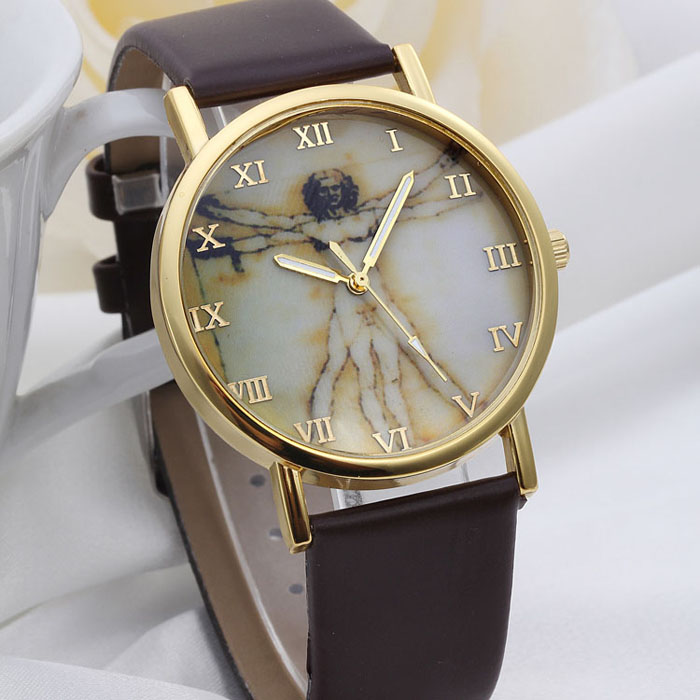 Women's Watches Ladies Clock Women Fashion Retro Style Dial Leather Band Analog relogio feminino Quartz Wrist Watches A20 new fashion women retro digital dial leather band quartz analog wrist watch watches wholesale 7055